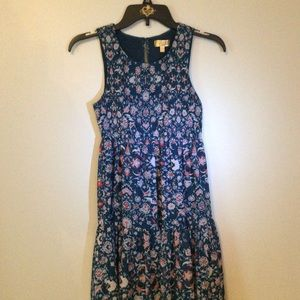 Princess Vera Wang Sleeveless Dress